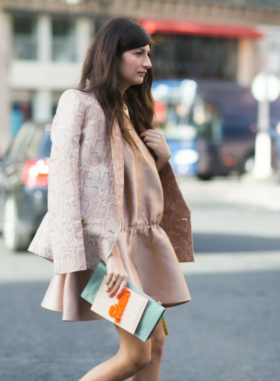 PFW Fall 2014 Street Style